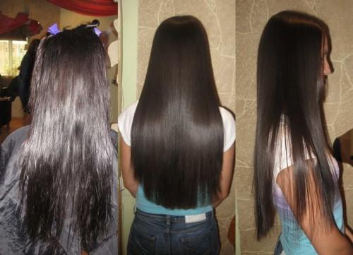 Бразильское выпрямление волосс