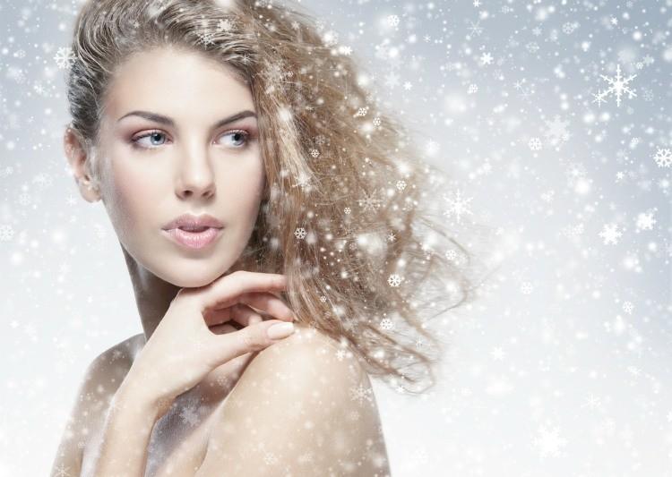 Забота о коже лица и волосах в холодный период