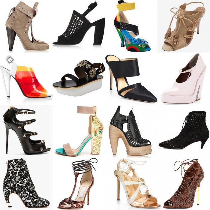 Модная обувь весна-лето 2016 года