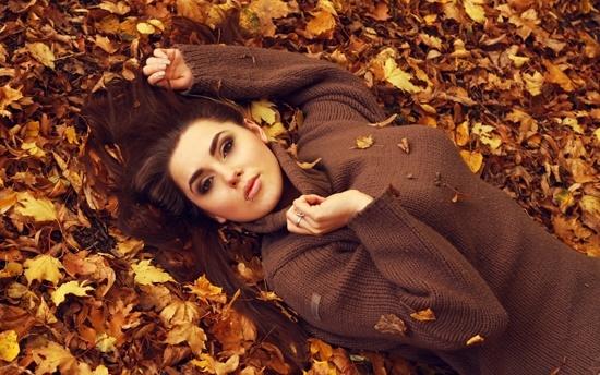 Яркий макияж изюминка осени